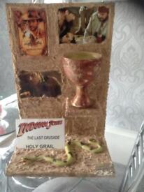 Indiana Jones movie prop display