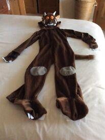 Gruffalo Dress up costume Age 5 to 7