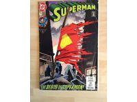 A US DC Comics Superman - The Death of Superman #75 (1993)