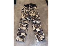 Camouflage motorcycle trousers M spada