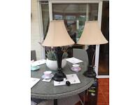 Table Lamps Pair