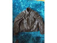 Men's size 46 Hein Gericke motorbike jacket leather