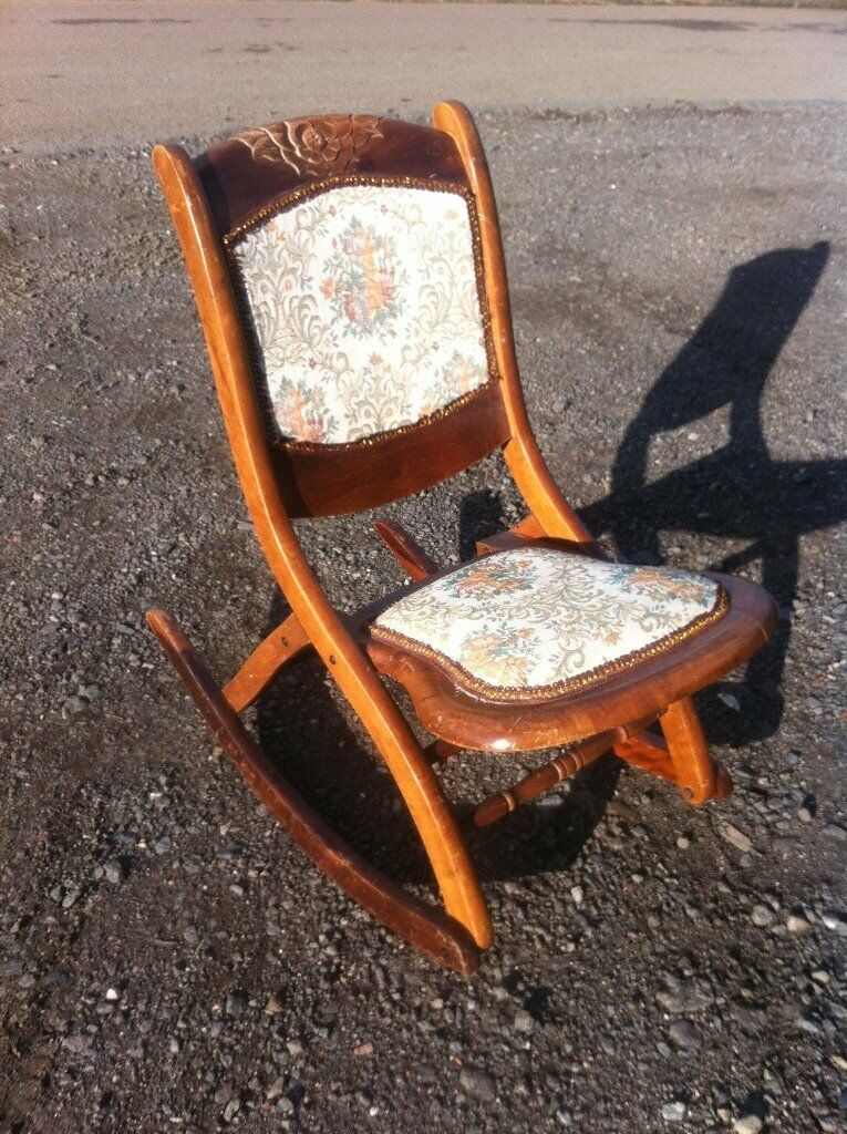 W0W petite vintage rocking chair