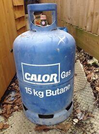 Butane Gas bottle full 15kg