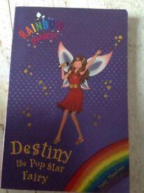 Rainbow Magic Destiny the Pop Star Fairy Book