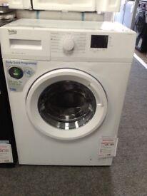 Beko 6kg 1200 spin slim depth washing machine. £159. New/graded 12 month Gtee