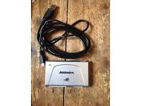2 x Addonics AESDD12U2WP 12-in-1 USB 2.0 Mini Flash cards sd cards reader Will sell separate.