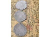 6 x Garden stepping sotones.. Never used, just purchased too many. Only £10 for all 6.