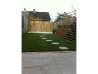 Natural coloured paving