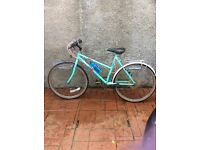 Ladies bicycle for sale 12 spread gears reasonable condition. Fixed price £25.00