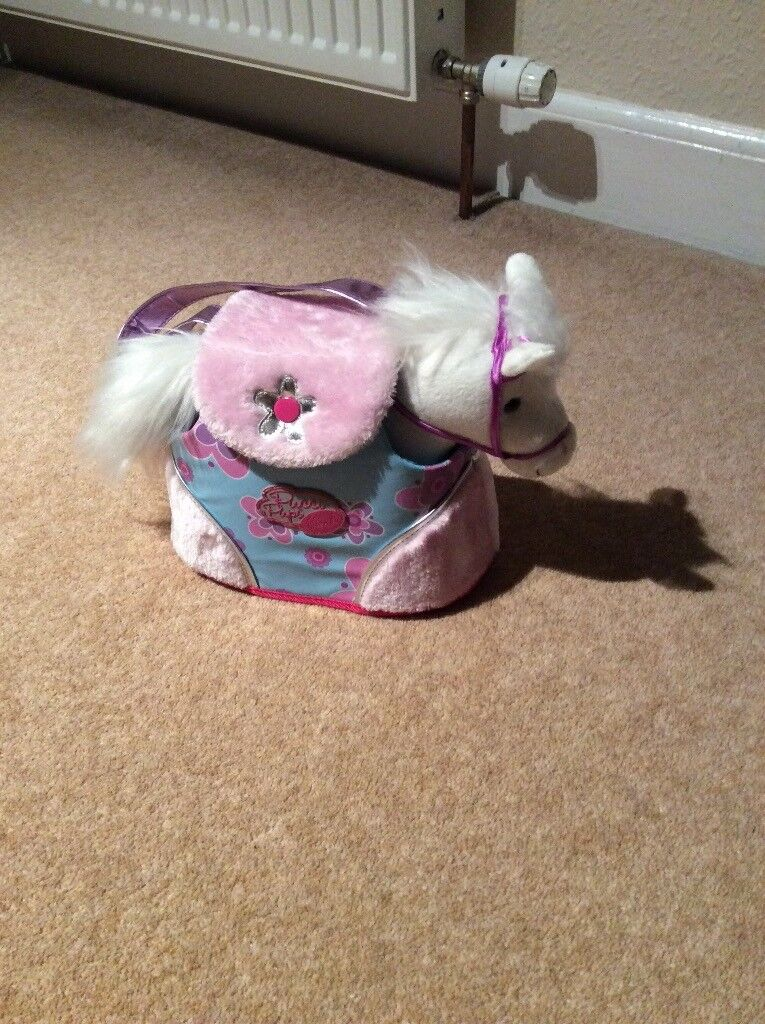 Soft Toy Pony in carry case