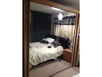 Sliding Double mirror wardrobe from For sale
