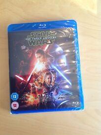 Brand New (Sealed) Star Wars - The Force Awakens Blu ray
