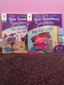 Julia Donaldson and leapfrog phonics books and more