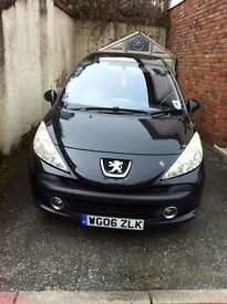 2006 Peugeot 207 (90). Sport. 1.4 petrol. 3 Door. 11 Month mot.