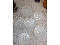 A set of 6 sherry glasses. New never used.