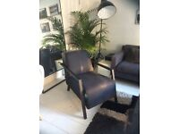Stylish and comfortable lounge chair/armchair