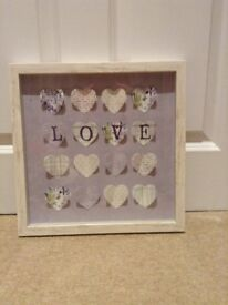 Next 'Love' picture frame