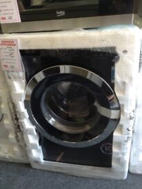 Beko 10kg 1400spin washing machine. Black. A+++ energy rated. New/graded 12 month Gtee