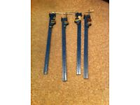 four wood working sash clamps 3 foot long in good condition