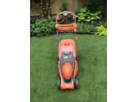 Electric Lawnmower. Flymo Chevron 34VC,