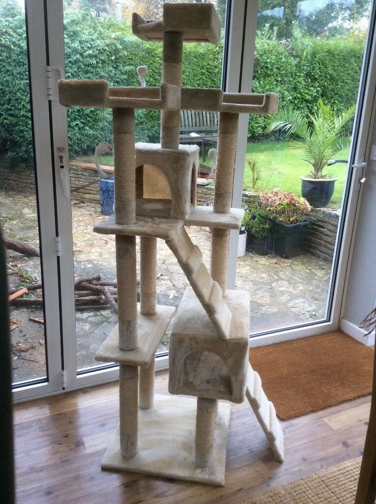 Extra large cat tree....excellent condition