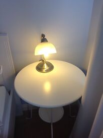 Second hand touch table lamp