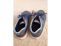 Men's Blue DCs shoes - size 7