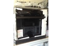 Leisure Patricia urquiola single intergrated oven. £250. New in package 12 month Gtee