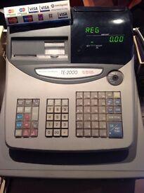 Shop fittings Casio TE-2000 till/ rack shelving