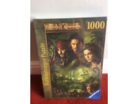 Ravensburger Pirates of the Caribbean 1000 piece jigsaw new and sealed