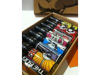 LUSH GORILLA PERFUME SAMPLE SET OF 8 (+ 5 extra bottles) - COLLECTOR'S ITEM!