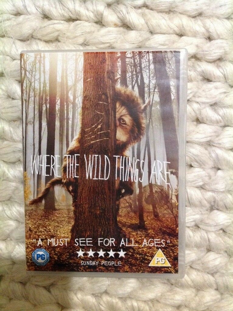 DVD film where the wild things are