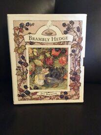 Box set of bramble hedge books