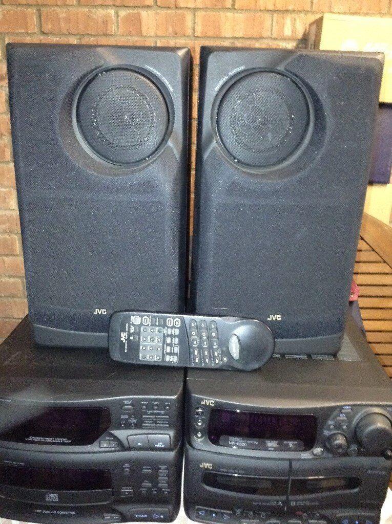JVC MX S500 Compact Component Systemin Stanway, EssexGumtree - JVC MXS500 Compact Component System Collection Only • JVC Compact Disc Player • JVC FM/AM Tuner CA S500 • JVC Double Cassette Deck • JVC MX2500 Amplifier