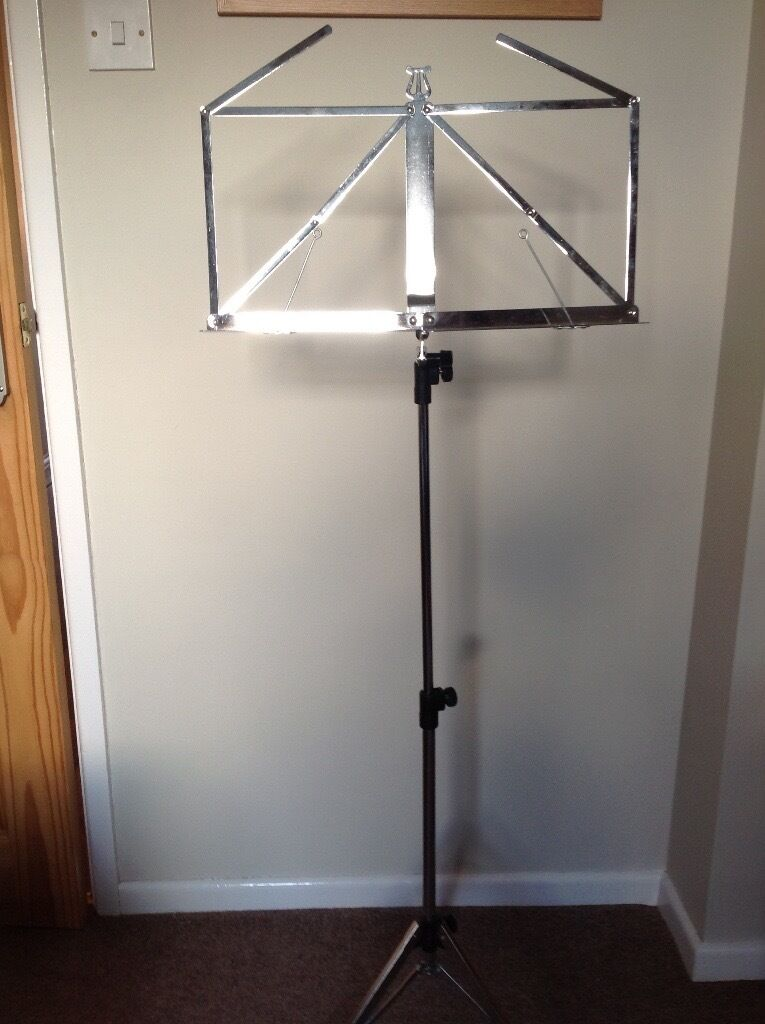 Folding Adjustable Sheet Music Stand