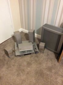 Panasonic dvd home theatre surround sound system