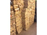 New handmade 68 mm London Yellow stock bricks(920 bricks)