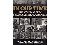 """IN OUR TIME: World as Seen by """"Magnum"""" Photographers by William Manchester Book (9780393027679)"""