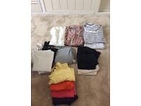 Huge maternity bundle, size 8-10, summer autumn clothes. 30+ items