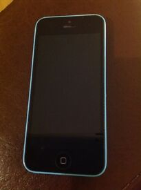 iPhone 5c phone - blue - immaculate condition