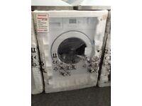 Beko 6.5 kg intergrated washing machine. New in package 12 month Gtee