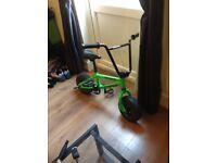 Mini bmx stunt bike