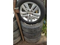 Vauxhall Astra H SXI facelift 16 inch Alloys 205/55/16.