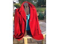 Vintage Valentino Red Velvet ladies coat