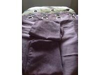 Lilac curtains 66/90'2 cushion covers