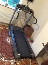 Horizon 2 fitness fold up treadmill