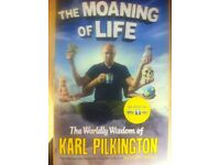 The Moaning of Life book ,by Karl pilkington.