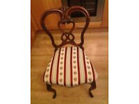 Antique chair in good condition