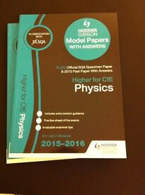 CFE Higher Physics Past PApers, includes additional specimen papers with solutions
